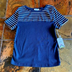Glitz Girl's Striped Top